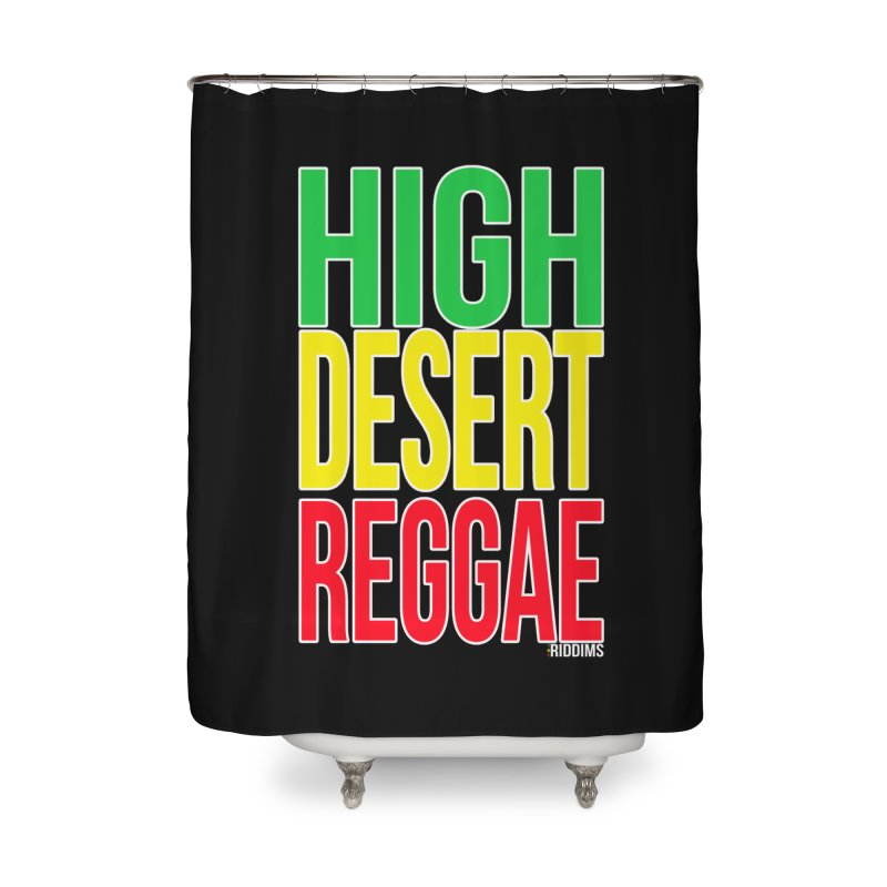 HDR Home Shower Curtain by The Riddims Merch Shop