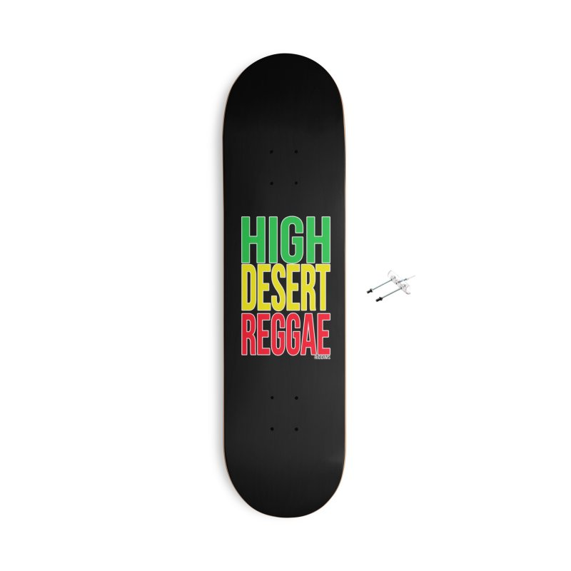HDR Accessories Skateboard by The Riddims Merch Shop