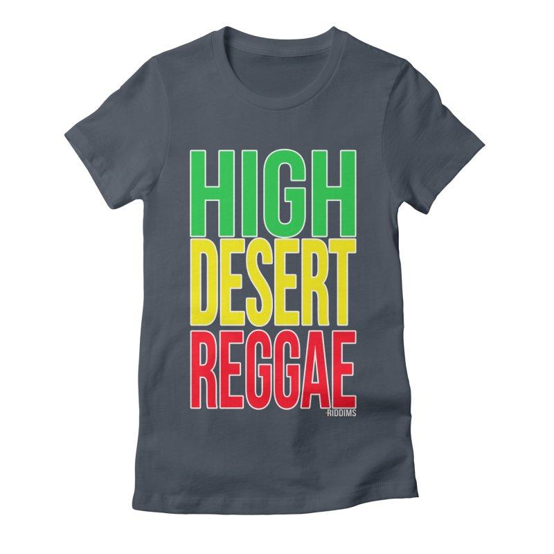 HDR Women's T-Shirt by The Riddims Merch Shop