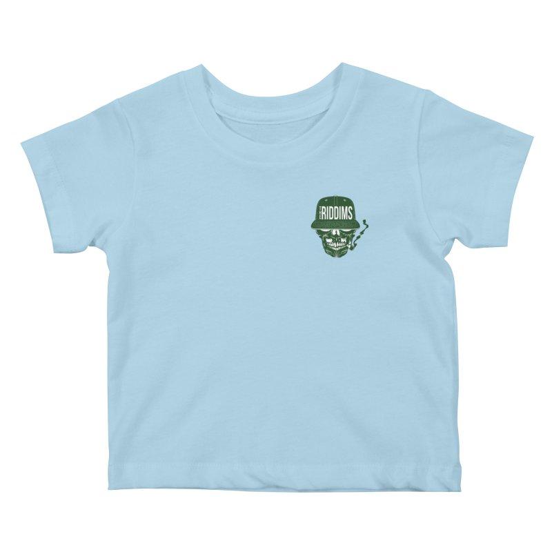 Marijuano Kids Baby T-Shirt by The Riddims Merch Shop