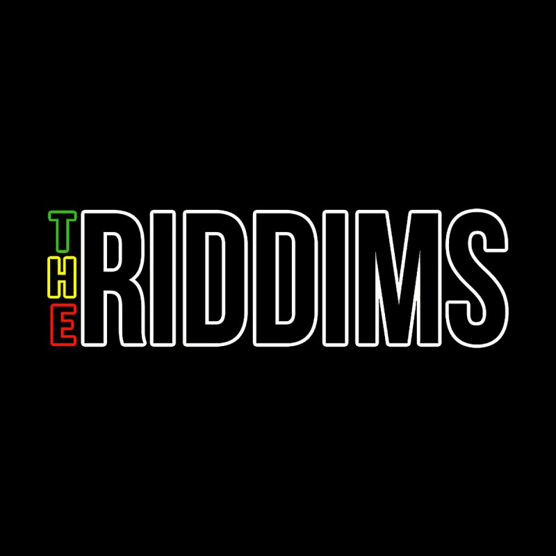 TR Black Men's T-Shirt by The Riddims Merch Shop