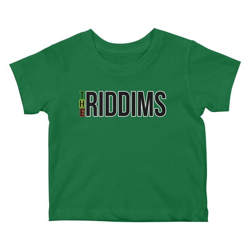 TR Black Kids Baby T-Shirt by The Riddims Merch Shop