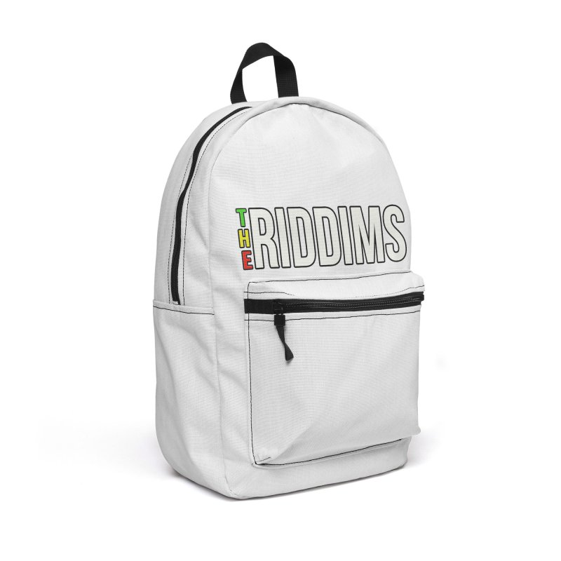 TR White Accessories Bag by The Riddims Merch Shop