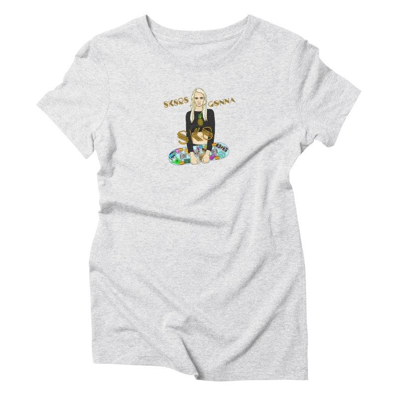 Cara Women's T-Shirt by ThirdEyeMonsters's Artist Shop
