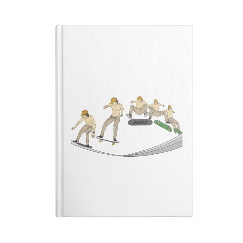 Shred It Accessories Notebook by ThirdEyeMonsters's Artist Shop