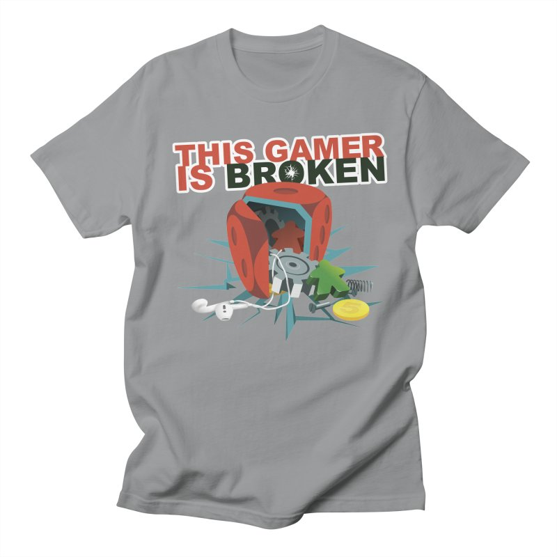 This Gamer is Broken Men's Regular T-Shirt by This Game is Broken Shop