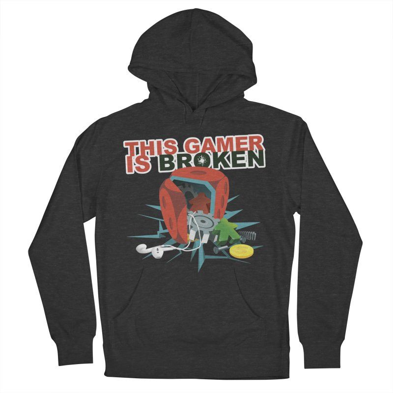 This Gamer is Broken Women's French Terry Pullover Hoody by This Game is Broken Shop