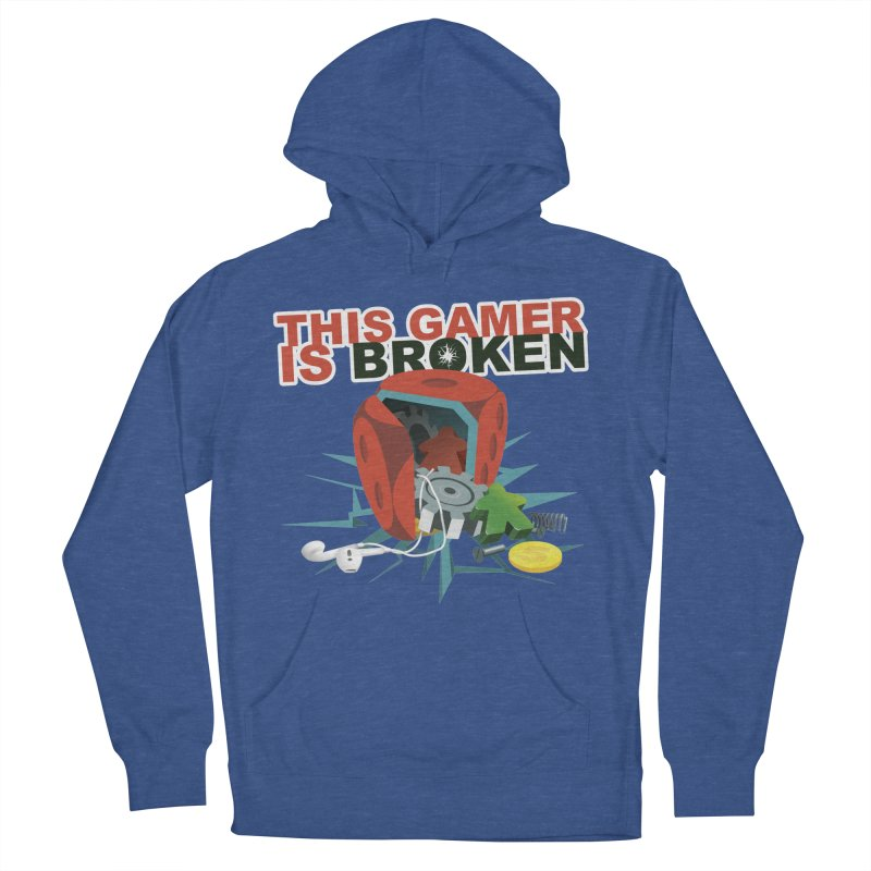 This Gamer is Broken Men's French Terry Pullover Hoody by This Game is Broken Shop