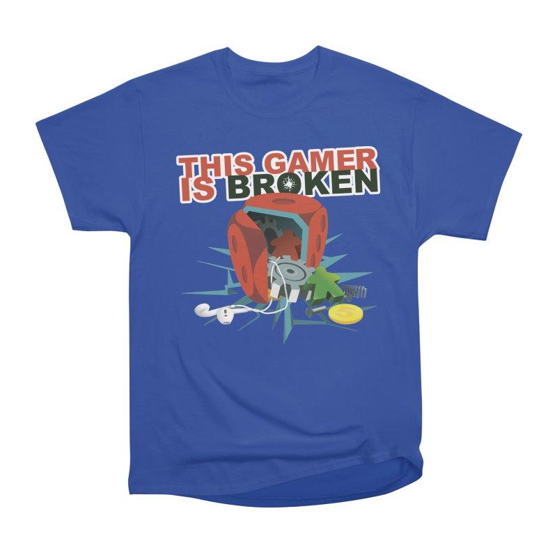 This Gamer is Broken Women's Heavyweight Unisex T-Shirt by This Game is Broken Shop