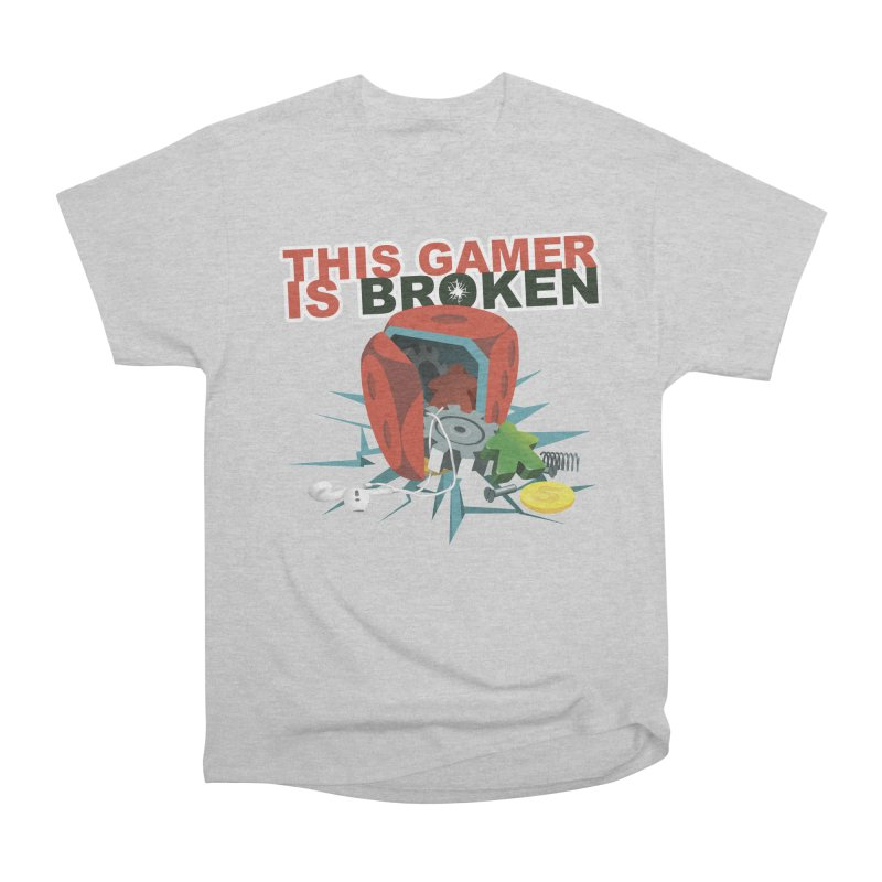 This Gamer is Broken Men's Heavyweight T-Shirt by This Game is Broken Shop