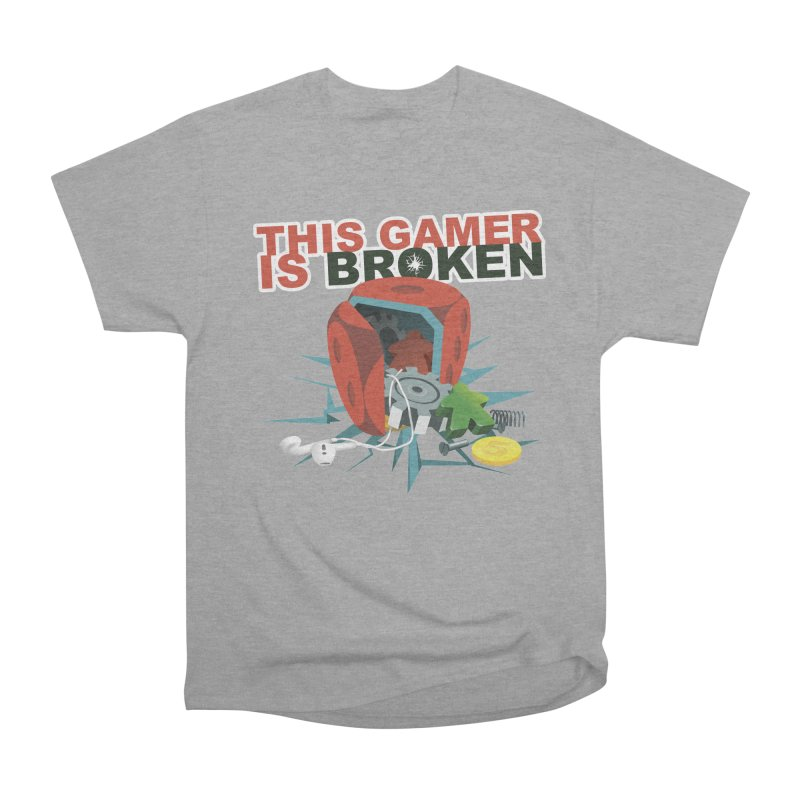This Gamer is Broken Women's Heavyweight Unisex T-Shirt by This Game is Broken Shop