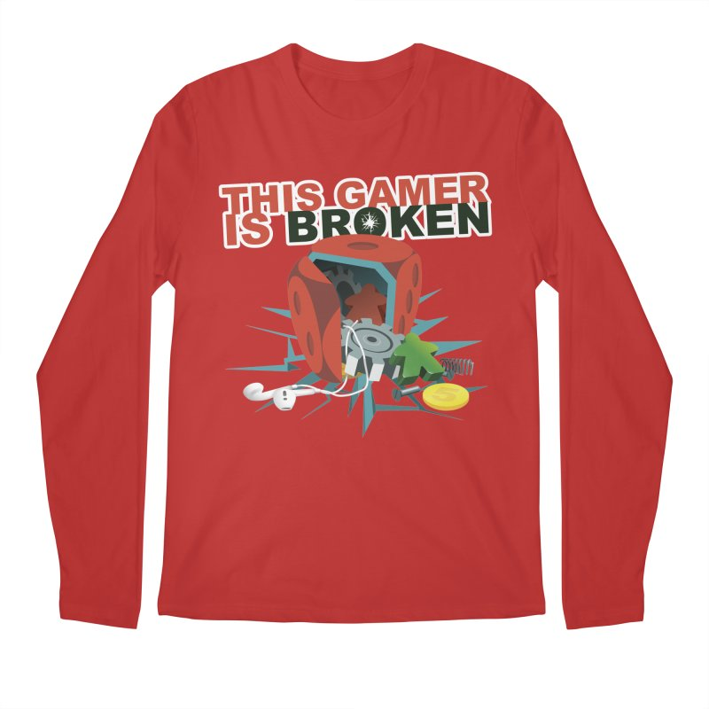 This Gamer is Broken Men's Regular Longsleeve T-Shirt by This Game is Broken Shop