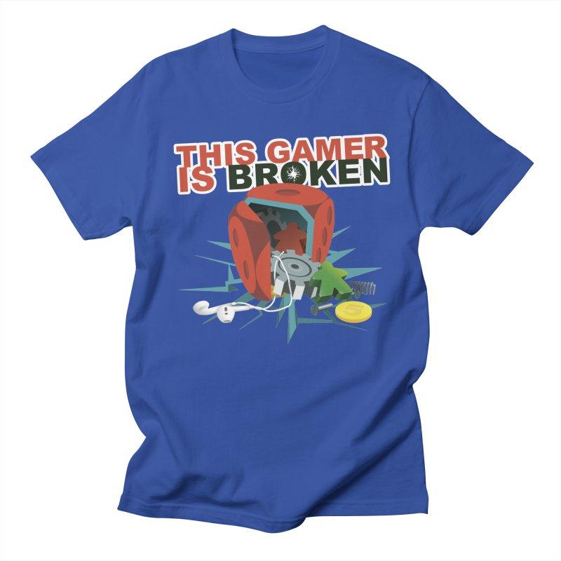 This Gamer is Broken Men's Regular T-Shirt by This Game is Broken Shop