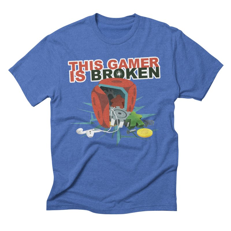 This Gamer is Broken Men's Triblend T-Shirt by This Game is Broken Shop