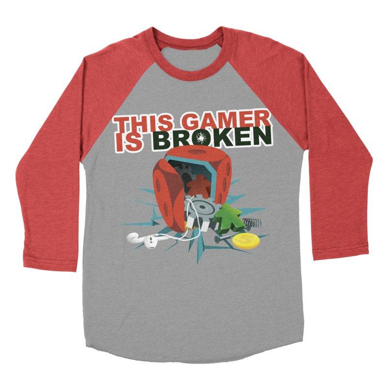 This Gamer is Broken Men's Baseball Triblend Longsleeve T-Shirt by This Game is Broken Shop