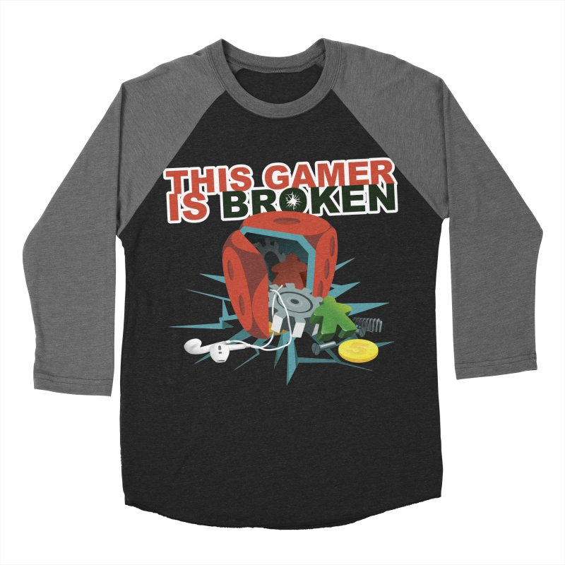 This Gamer is Broken Men's Baseball Triblend Longsleeve T-Shirt by This Game is Broken Shop