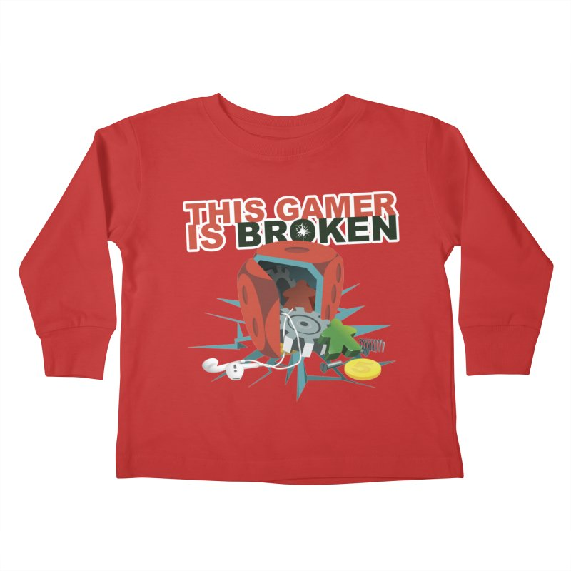 This Gamer is Broken Kids Toddler Longsleeve T-Shirt by This Game is Broken Shop