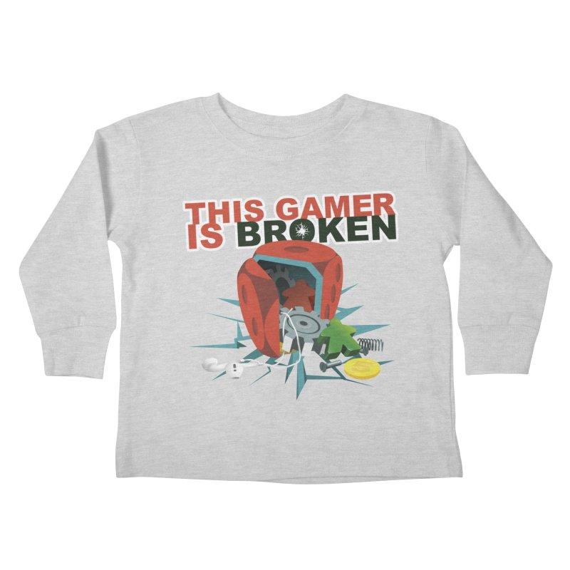 This Gamer is Broken Kids Toddler Longsleeve T-Shirt by This Game is Broken Shop