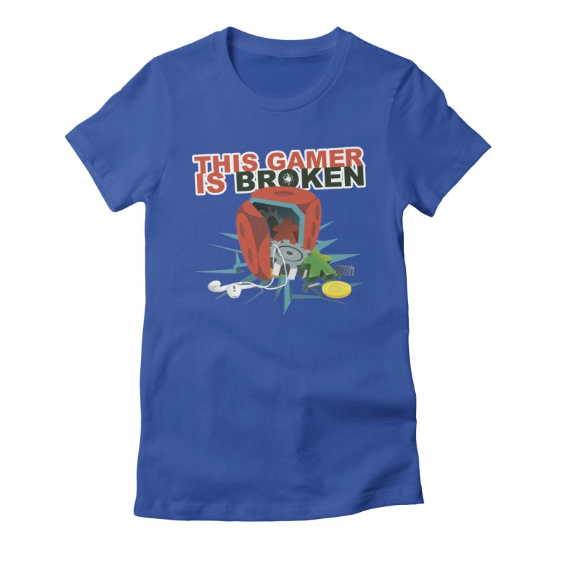 This Gamer is Broken Women's Fitted T-Shirt by This Game is Broken Shop
