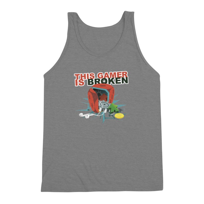 This Gamer is Broken Men's Triblend Tank by This Game is Broken Shop