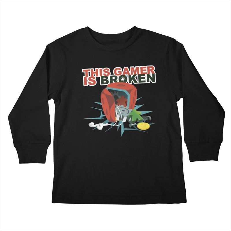 This Gamer is Broken Kids Longsleeve T-Shirt by This Game is Broken Shop