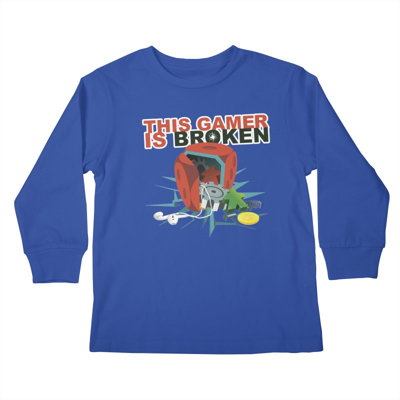 This Gamer is Broken Kids Longsleeve T-Shirt by This Game is Broken Shop