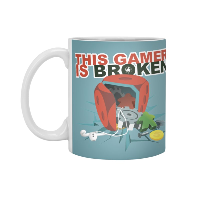 This Gamer is Broken Accessories Standard Mug by This Game is Broken Shop