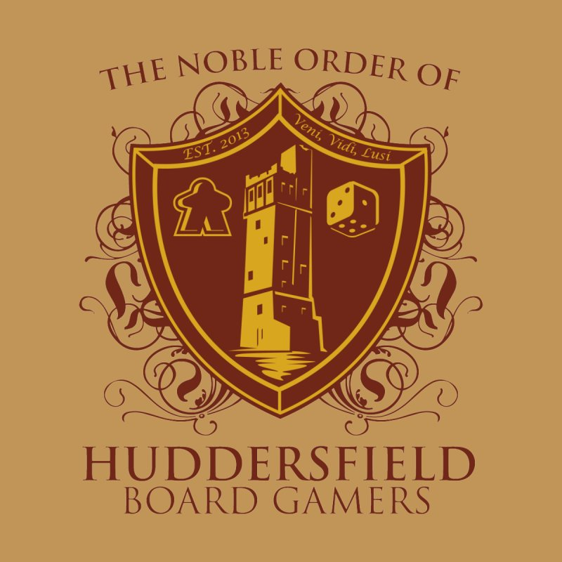 The Noble Order of Huddersfield Board Gamers by This Game is Broken Shop