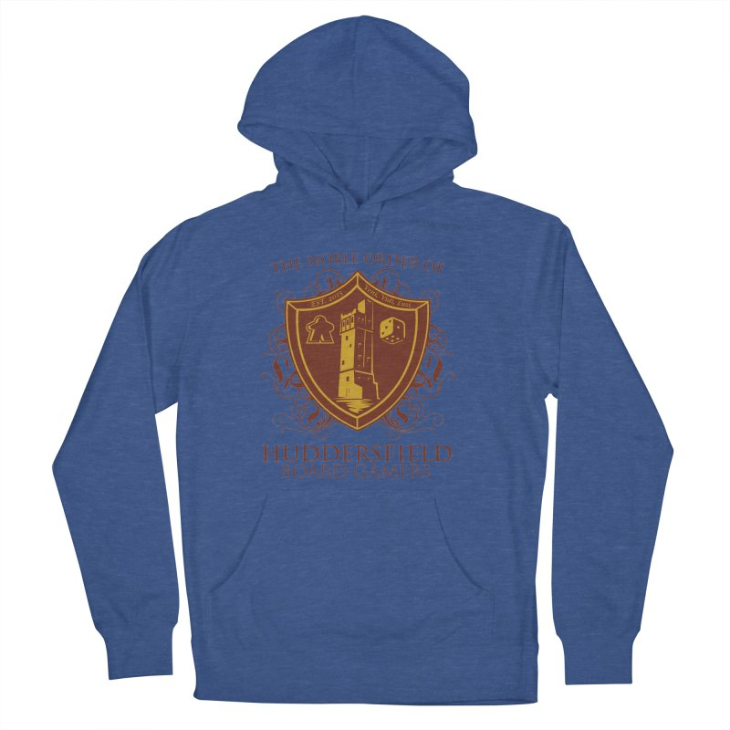 The Noble Order of Huddersfield Board Gamers Women's French Terry Pullover Hoody by This Game is Broken Shop