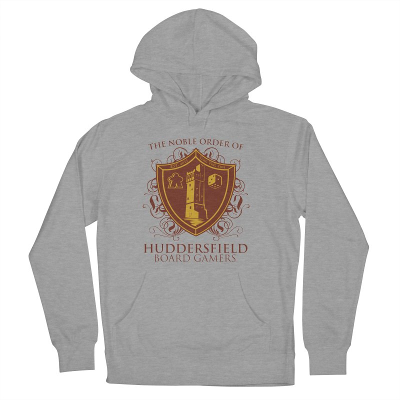 The Noble Order of Huddersfield Board Gamers Men's French Terry Pullover Hoody by This Game is Broken Shop
