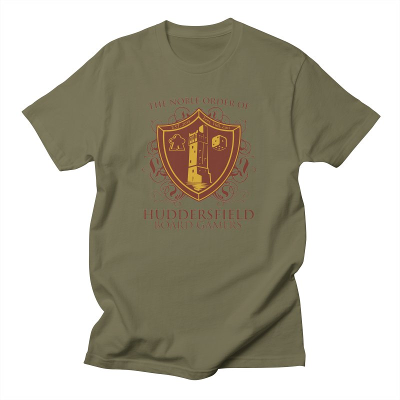 The Noble Order of Huddersfield Board Gamers Women's Regular Unisex T-Shirt by This Game is Broken Shop