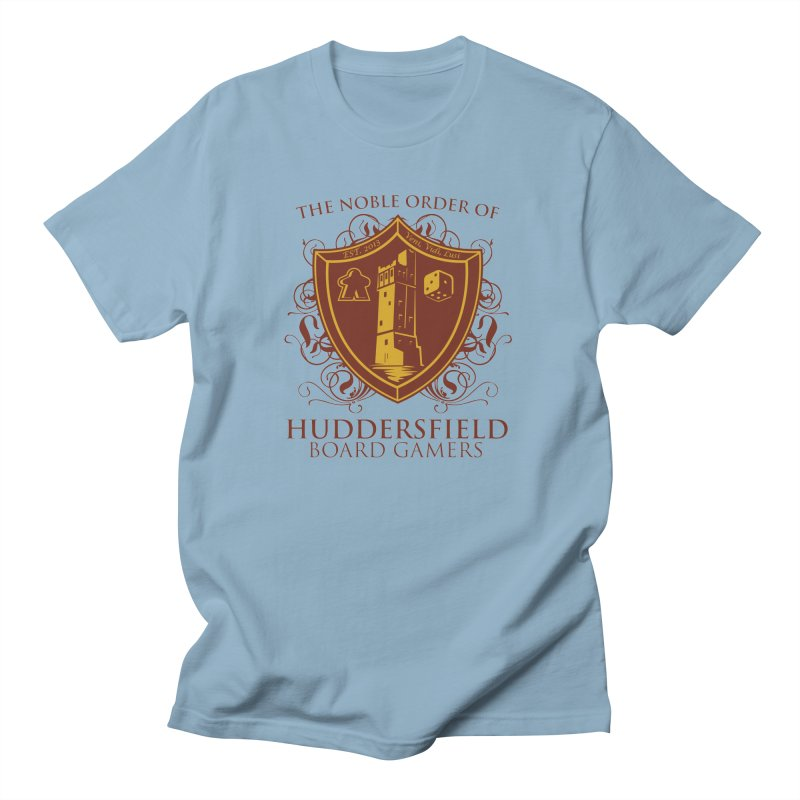 The Noble Order of Huddersfield Board Gamers Men's Regular T-Shirt by This Game is Broken Shop