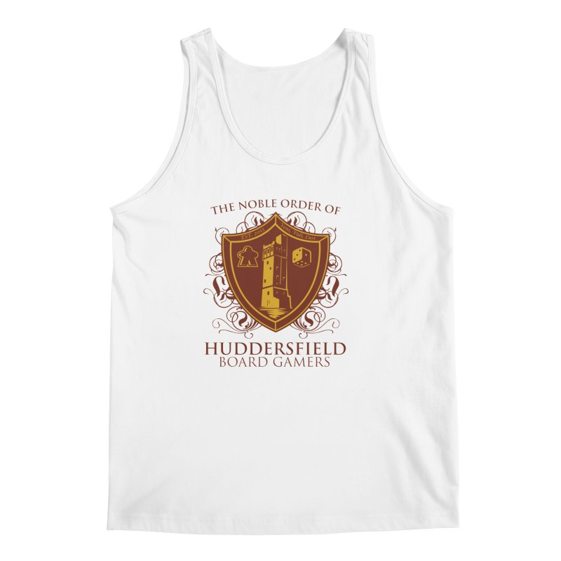 The Noble Order of Huddersfield Board Gamers Men's Regular Tank by This Game is Broken Shop