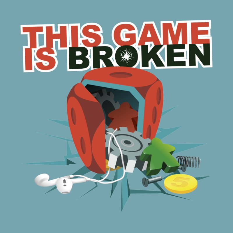 The Official This Game is Broken Brand Women's T-Shirt by This Game is Broken Shop