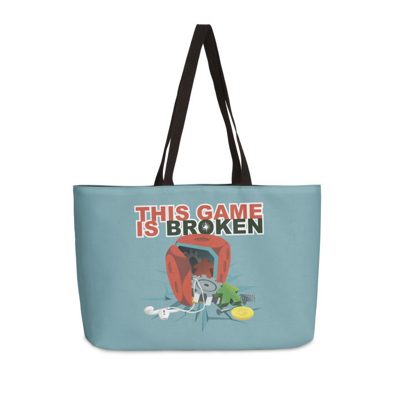 The Official This Game is Broken Brand Accessories Weekender Bag Bag by This Game is Broken Shop