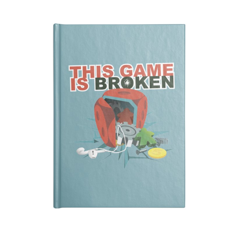 The Official This Game is Broken Brand Accessories Lined Journal Notebook by This Game is Broken Shop