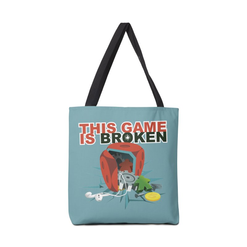 The Official This Game is Broken Brand Accessories Tote Bag Bag by This Game is Broken Shop
