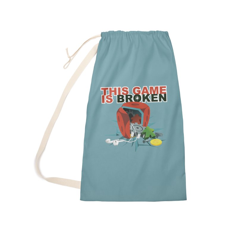 The Official This Game is Broken Brand Accessories Laundry Bag Bag by This Game is Broken Shop