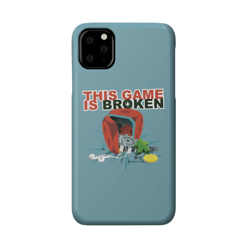 The Official This Game is Broken Brand Accessories Phone Case by This Game is Broken Shop