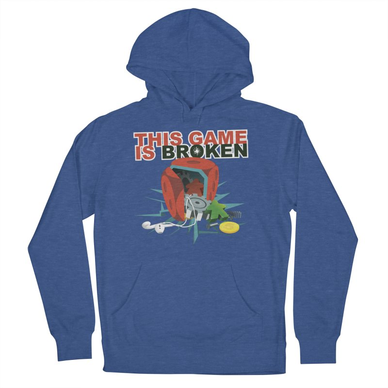 The Official This Game is Broken Brand Women's French Terry Pullover Hoody by This Game is Broken Shop
