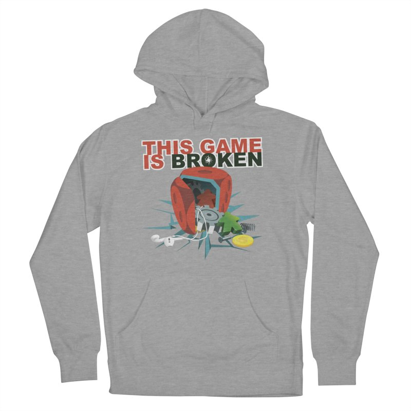 The Official This Game is Broken Brand Men's French Terry Pullover Hoody by This Game is Broken Shop