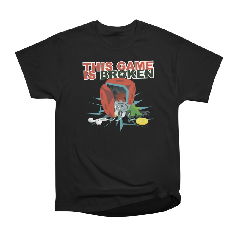 The Official This Game is Broken Brand Women's Heavyweight Unisex T-Shirt by This Game is Broken Shop