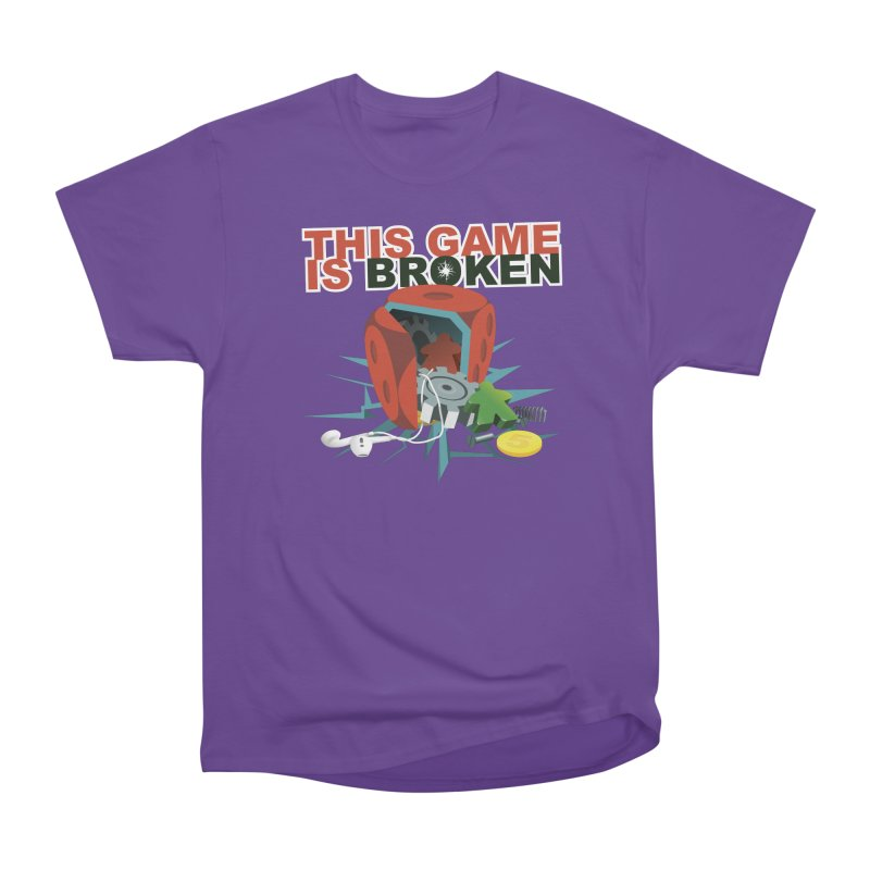 The Official This Game is Broken Brand Men's Heavyweight T-Shirt by This Game is Broken Shop