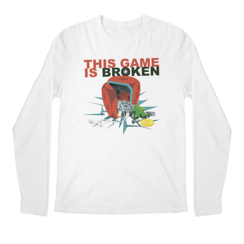 The Official This Game is Broken Brand Men's Regular Longsleeve T-Shirt by This Game is Broken Shop