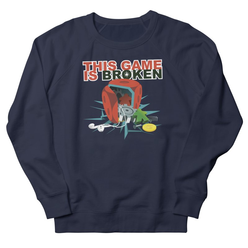 The Official This Game is Broken Brand Men's French Terry Sweatshirt by This Game is Broken Shop