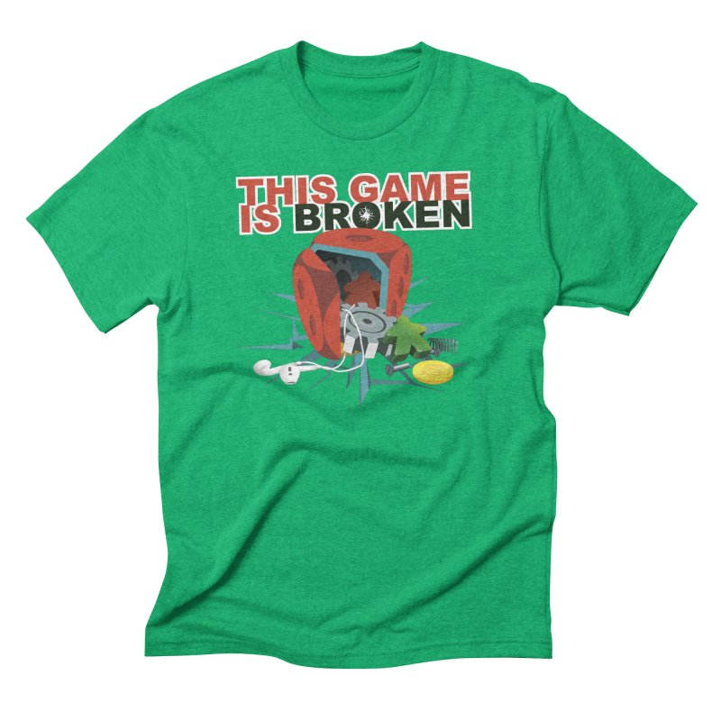 The Official This Game is Broken Brand Men's Triblend T-Shirt by This Game is Broken Shop