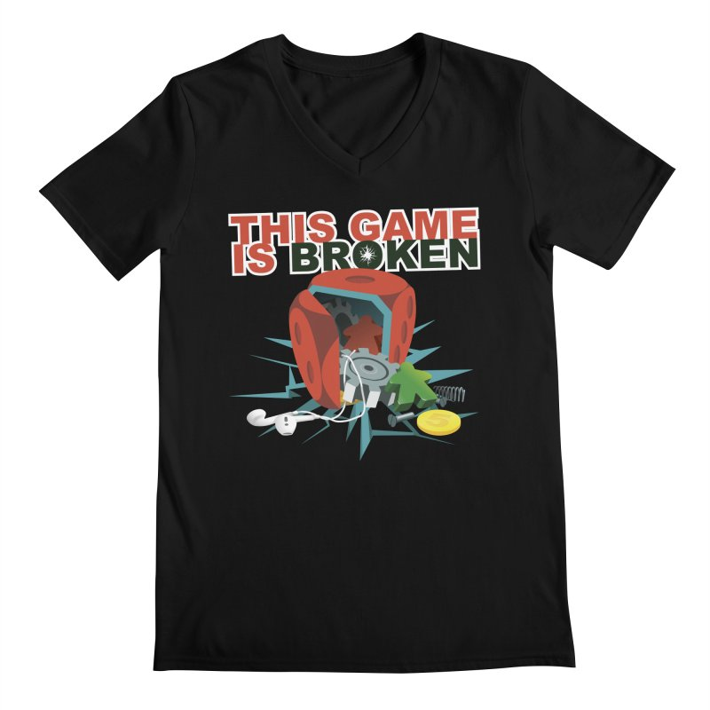 The Official This Game is Broken Brand Men's Regular V-Neck by This Game is Broken Shop
