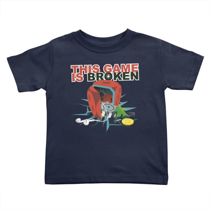 The Official This Game is Broken Brand Kids Toddler T-Shirt by This Game is Broken Shop