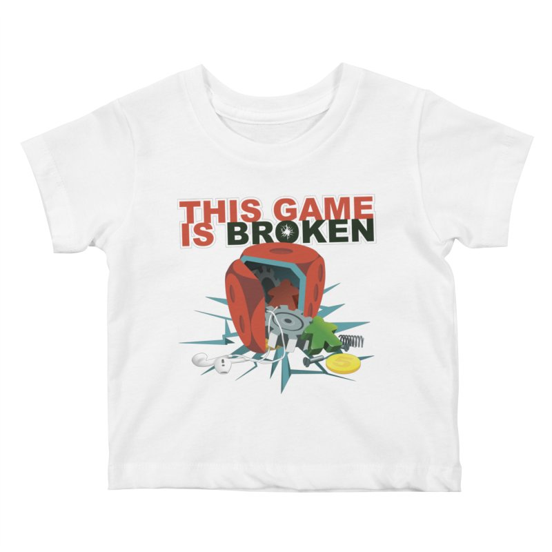 The Official This Game is Broken Brand Kids Baby T-Shirt by This Game is Broken Shop