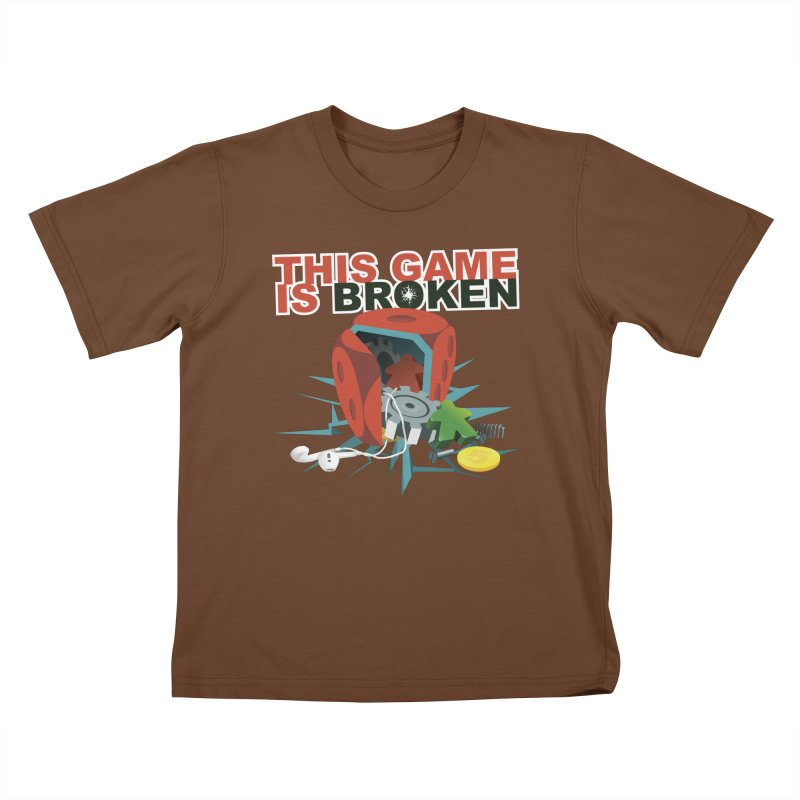The Official This Game is Broken Brand Kids T-Shirt by This Game is Broken Shop